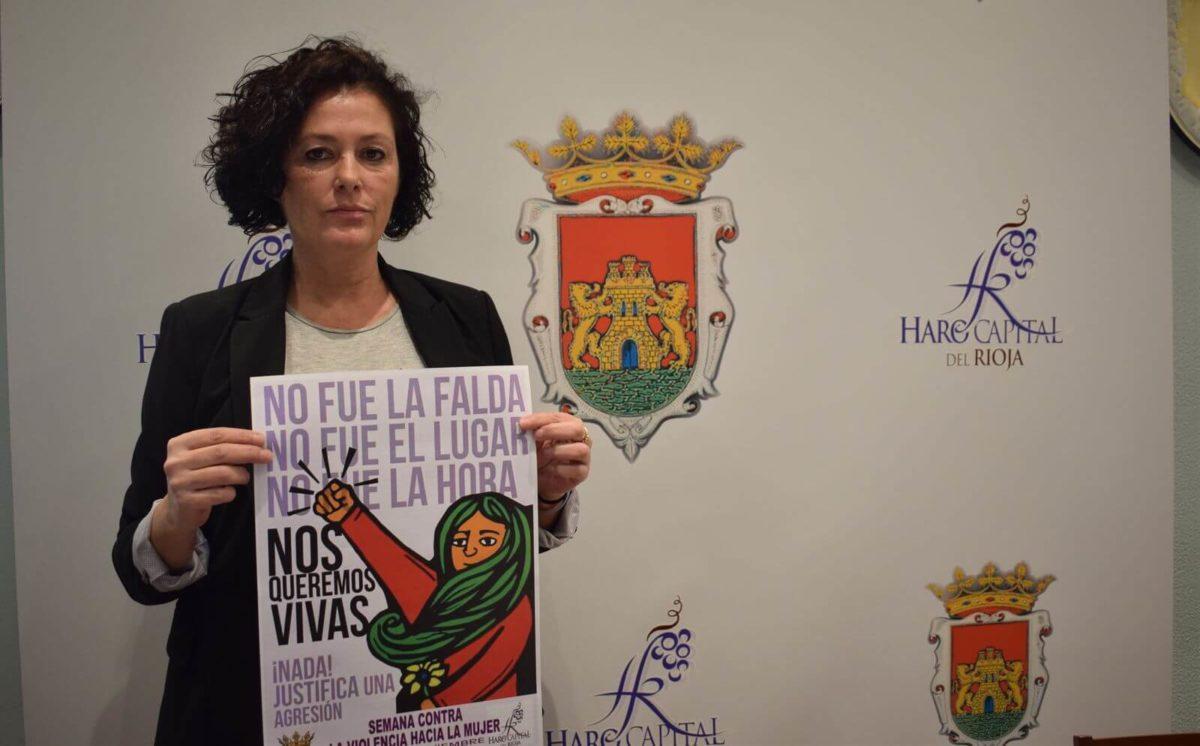 Haro se prepara para celebrar la Semana contra la Violencia sobre la Mujer 1
