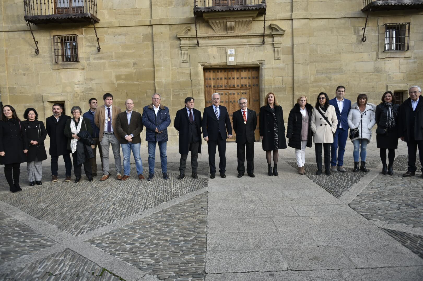 Inaugurado el recién rehabilitado edificio del Corregimiento de Santo Domingo de la Calzada 8
