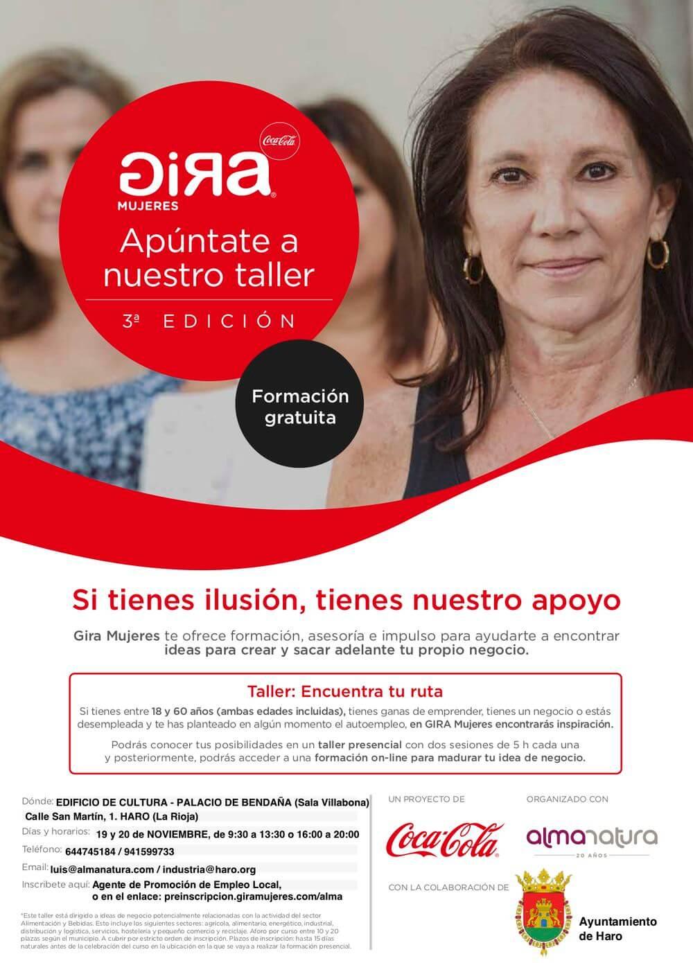 La Gira Mujeres de Coca-Cola pasará por Haro la próxima semana 1