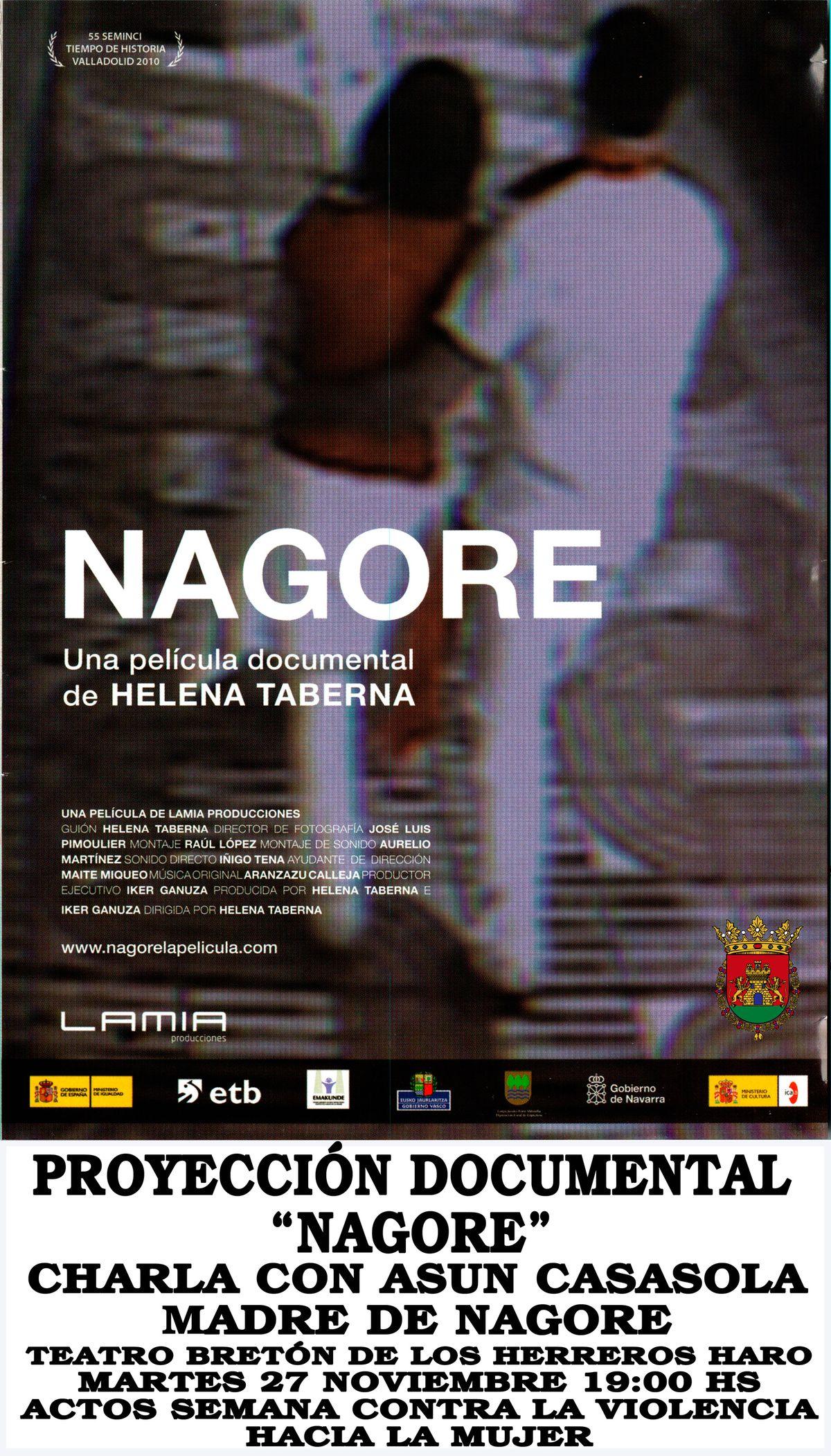La proyección del documental 'Nagore' se traslada al Bretón 1