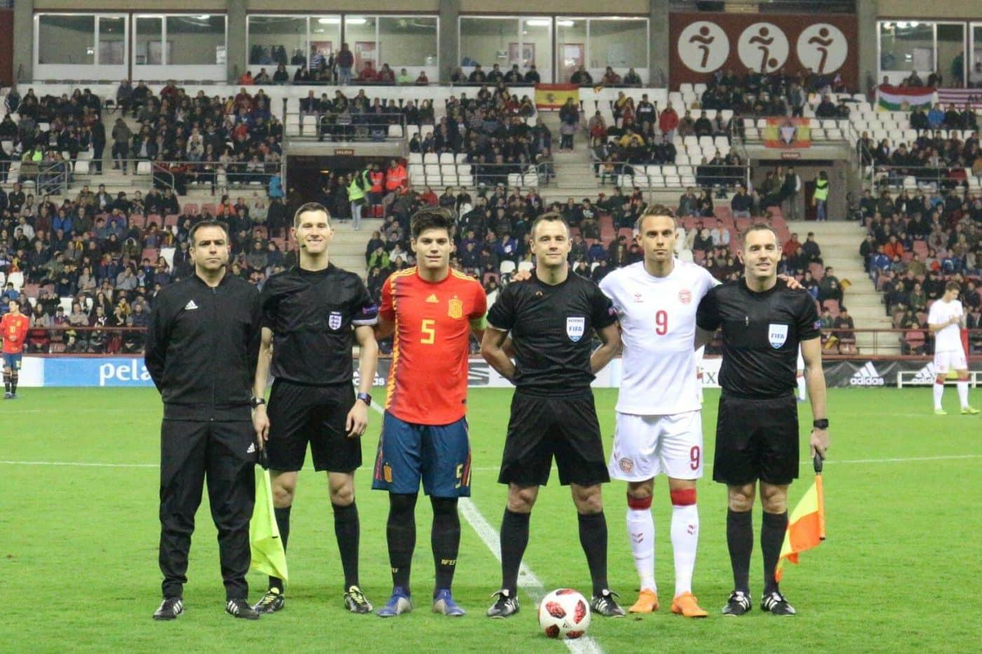 La Sub-21 de Luis de la Fuente remonta y golea en Las Gaunas 14