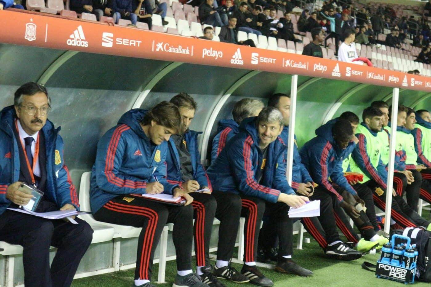 La Sub-21 de Luis de la Fuente remonta y golea en Las Gaunas 15