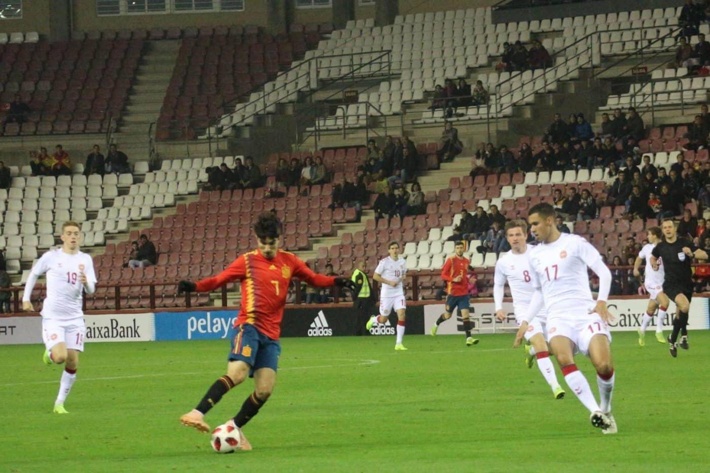 La Sub-21 de Luis de la Fuente remonta y golea en Las Gaunas 17