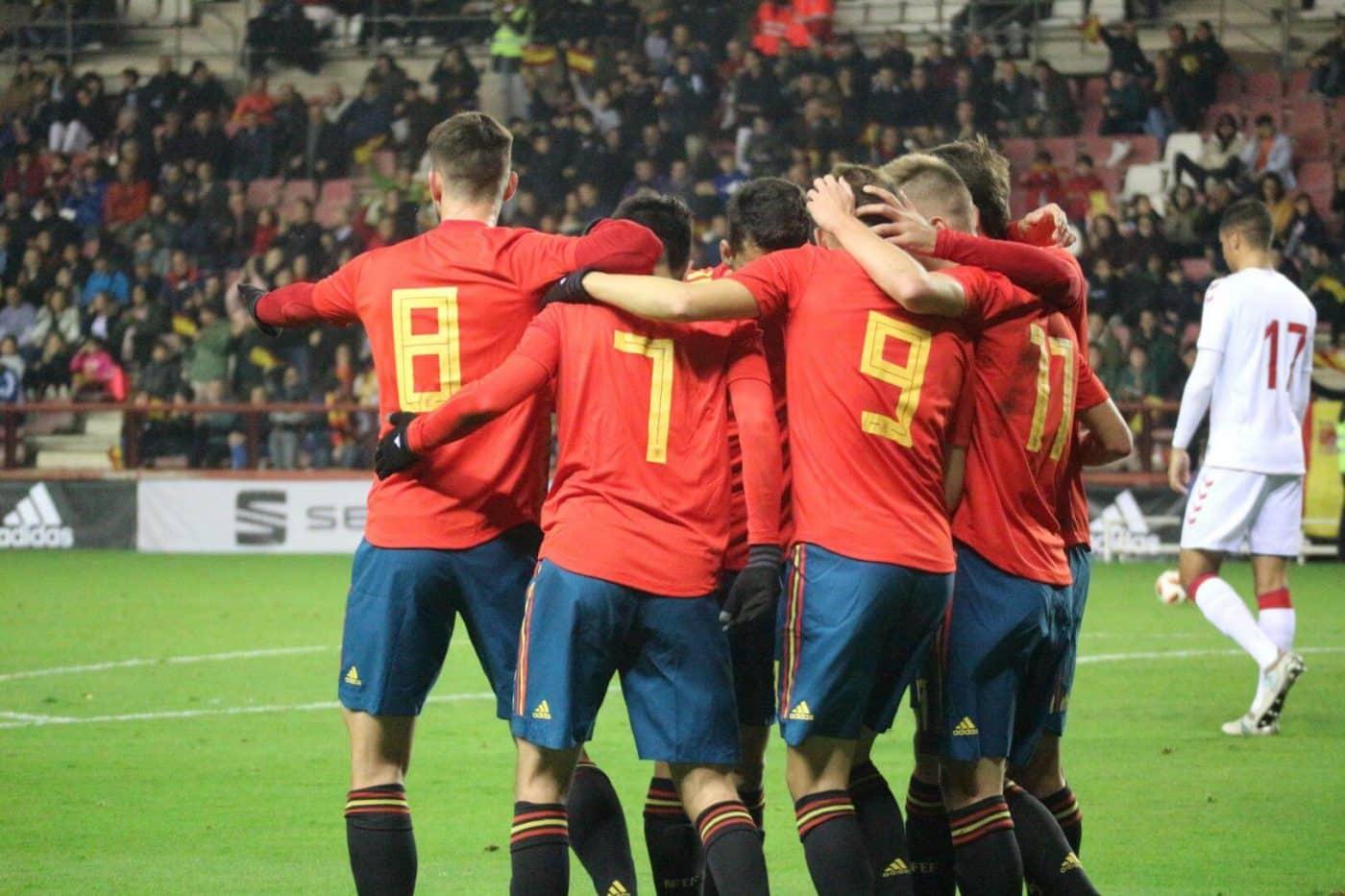 La Sub-21 de Luis de la Fuente remonta y golea en Las Gaunas 18