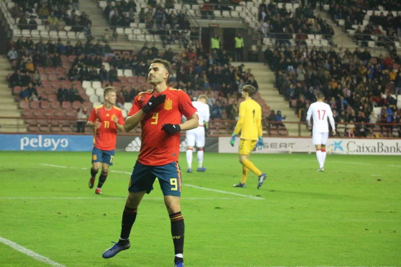 La Sub-21 de Luis de la Fuente remonta y golea en Las Gaunas 20