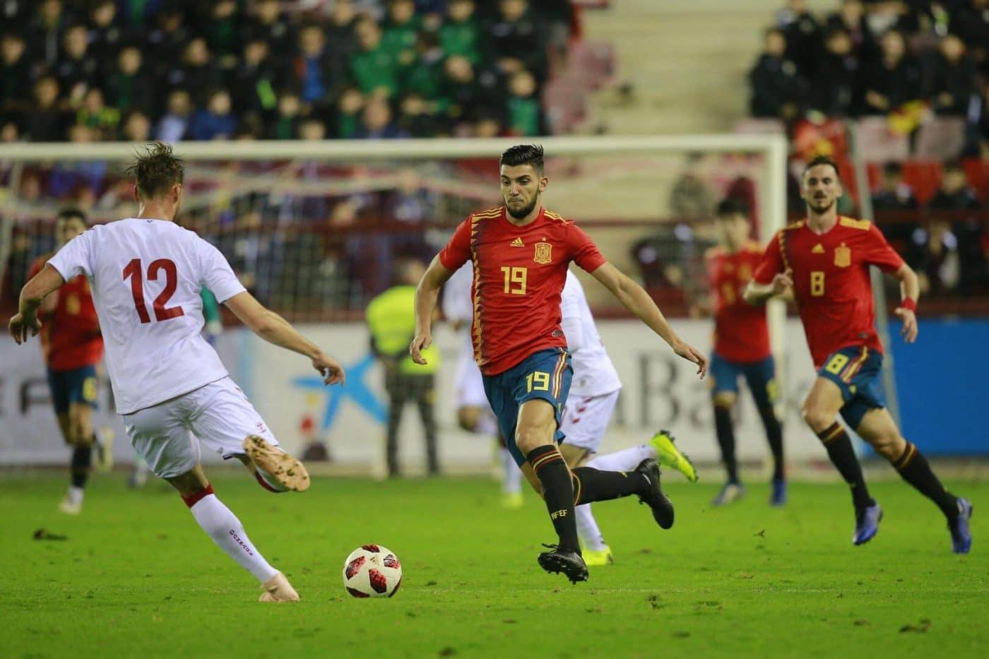 La Sub-21 de Luis de la Fuente remonta y golea en Las Gaunas 22