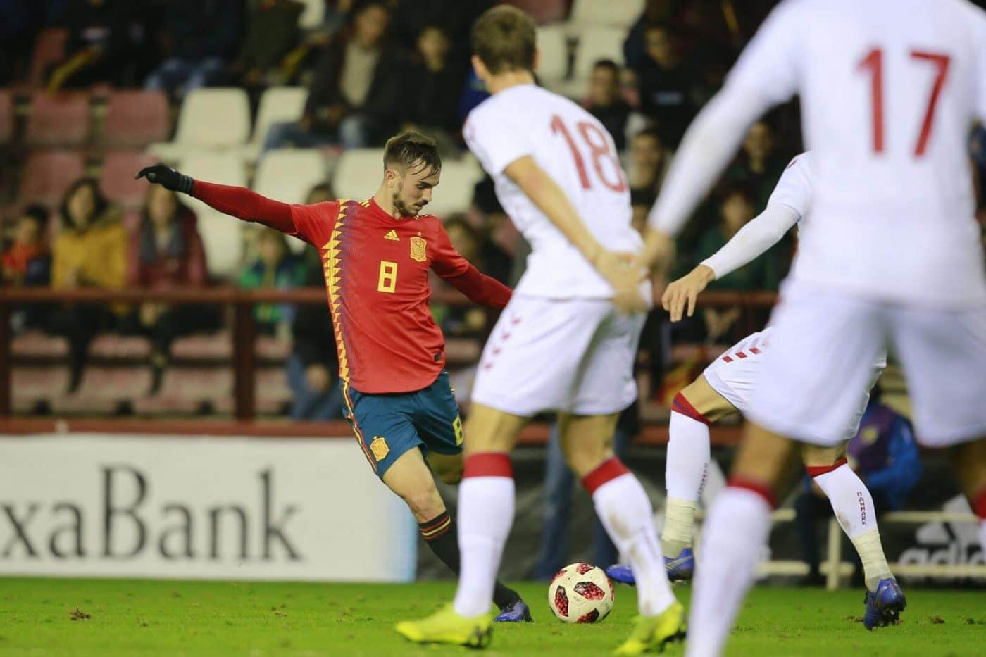 La Sub-21 de Luis de la Fuente remonta y golea en Las Gaunas 29