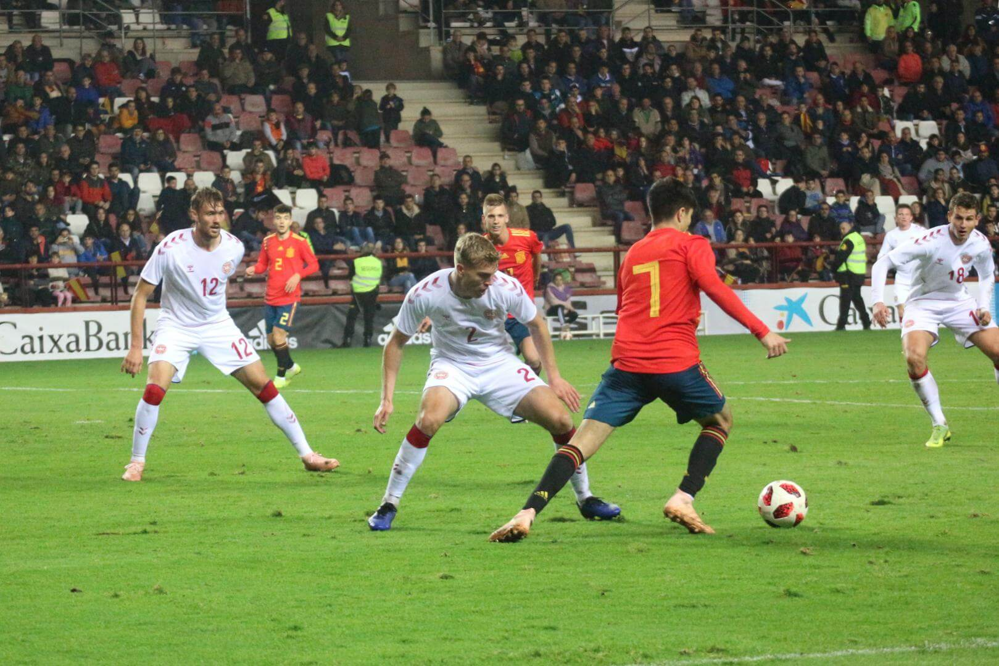 La Sub-21 de Luis de la Fuente remonta y golea en Las Gaunas 3