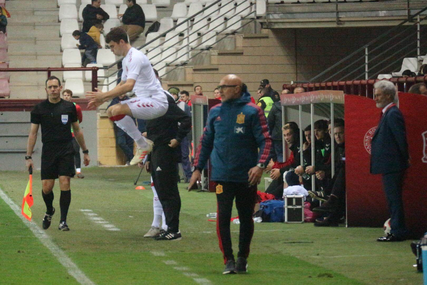 La Sub-21 de Luis de la Fuente remonta y golea en Las Gaunas 5