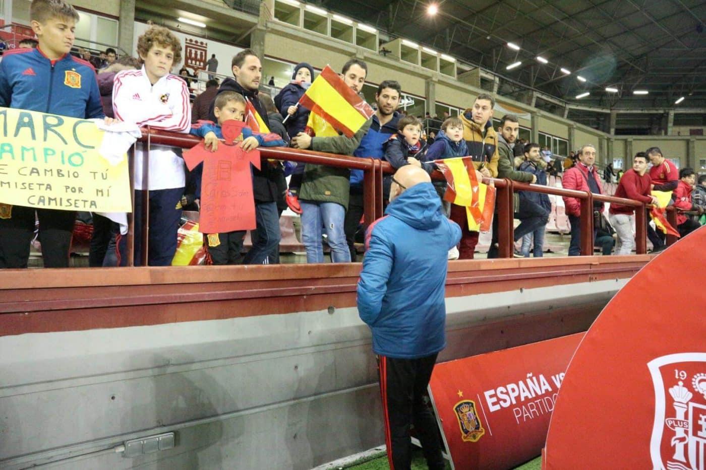 La Sub-21 de Luis de la Fuente remonta y golea en Las Gaunas 6