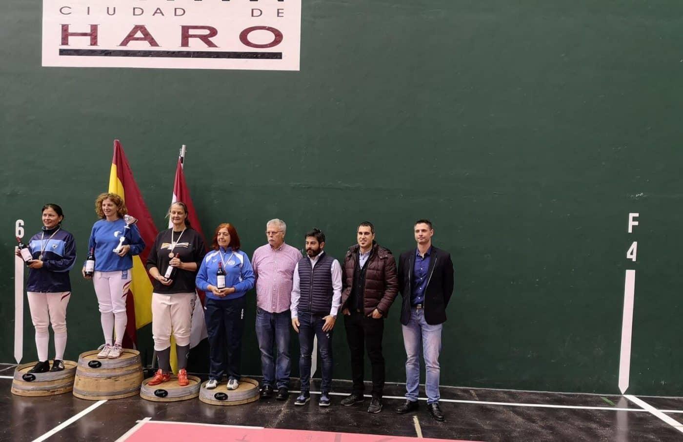 Más de 80 tiradores participan en Haro en el Torneo Nacional Liga Máster de Esgrima 1