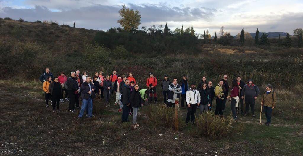 Paseo saludable hasta Villalba de Rioja en el Día Europeo del Enoturismo 3