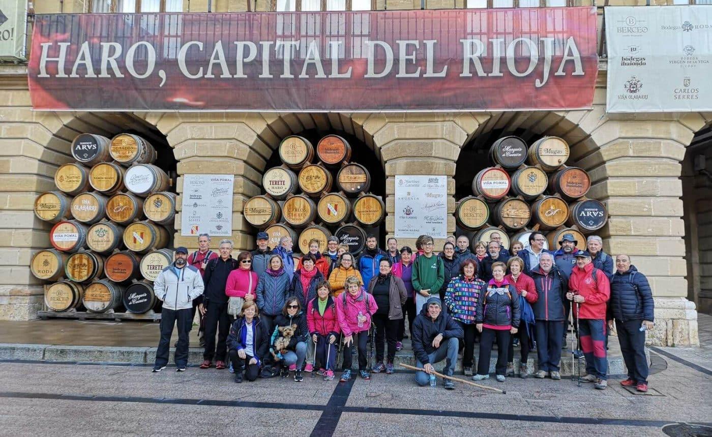 Paseo saludable hasta Villalba de Rioja en el Día Europeo del Enoturismo 4