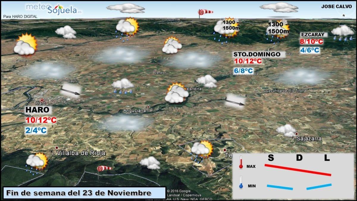 Días de tiempo variable y otoñal en La Rioja Alta 1