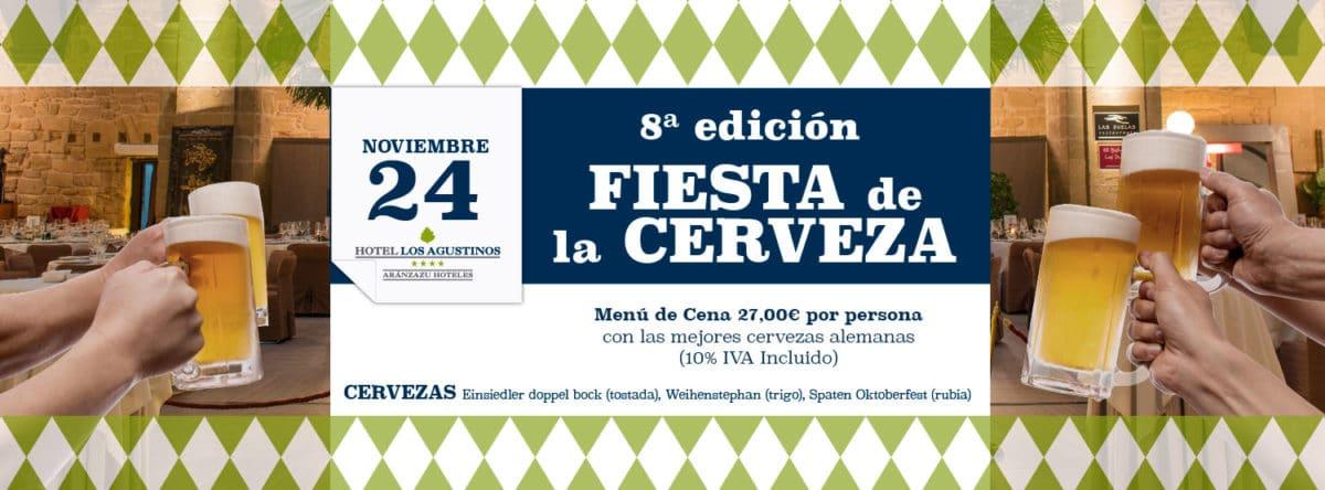 Un año más vuelve la Fiesta de la Cerveza a Haro gracias al Hotel Los Agustinos 2