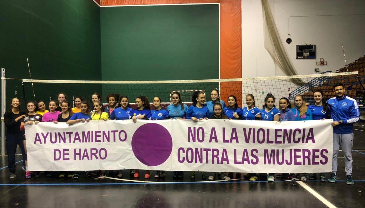 El deporte participa en la Semana contra la Violencia sobre la Mujer que concluye mañana 3