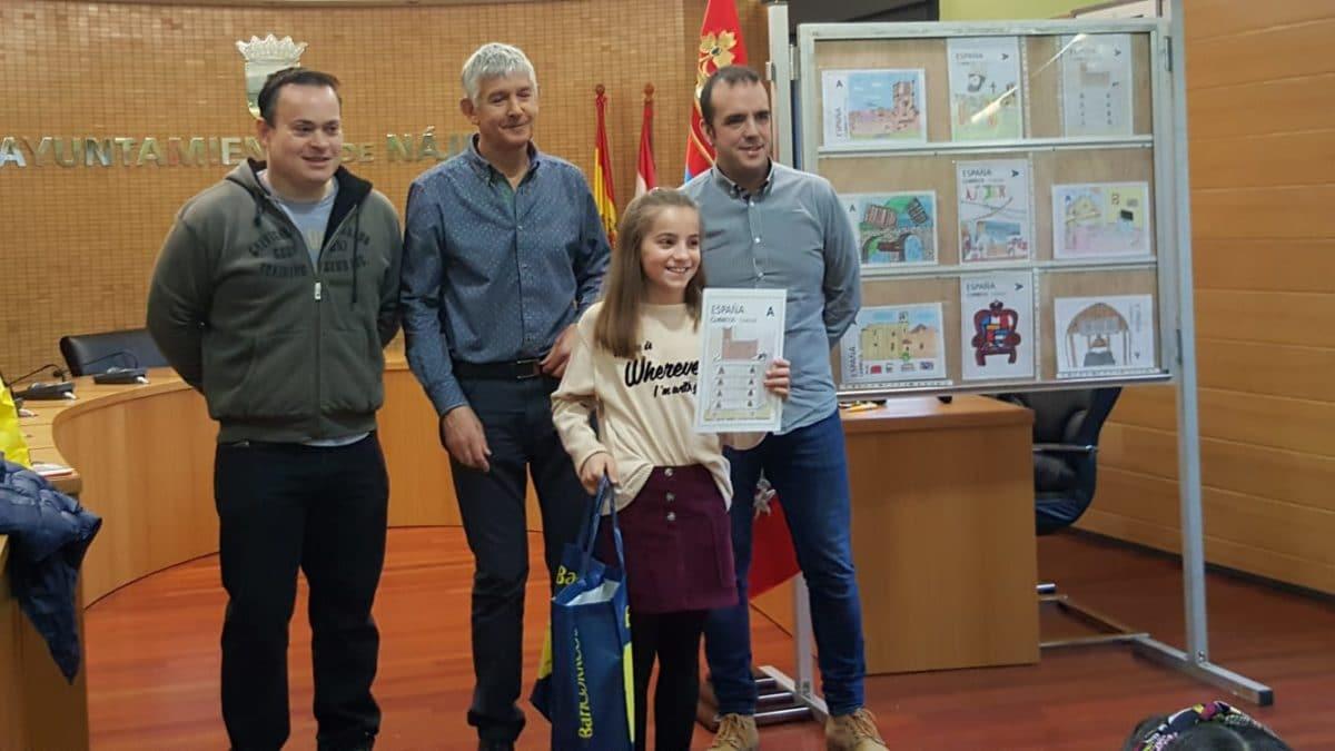 Acona entrega en Nájera los premios del IV Concurso 'Dibuja tu sello' 1