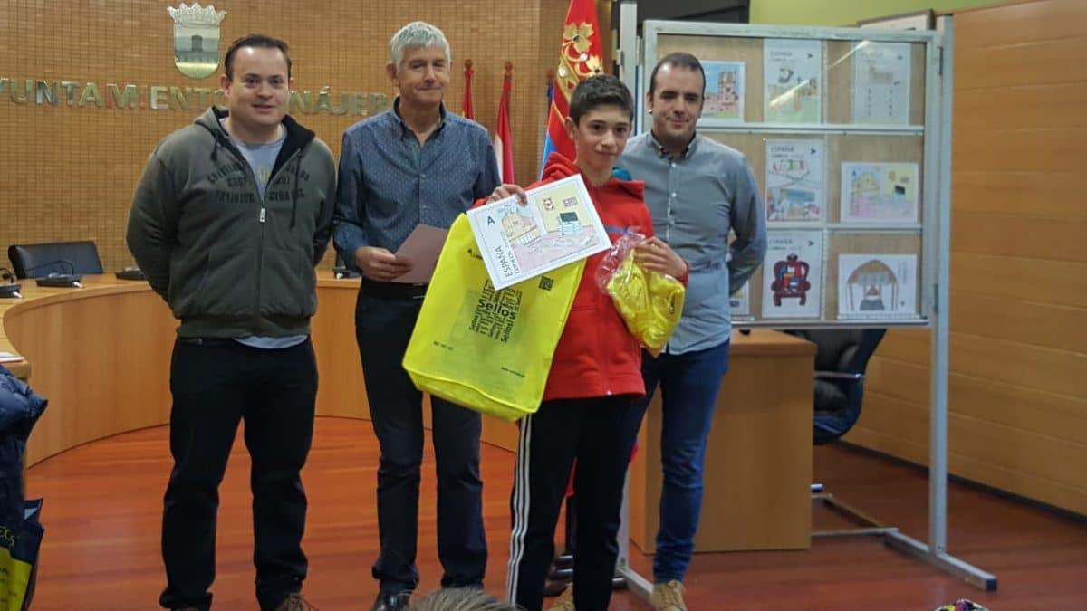 Acona entrega en Nájera los premios del IV Concurso 'Dibuja tu sello' 2