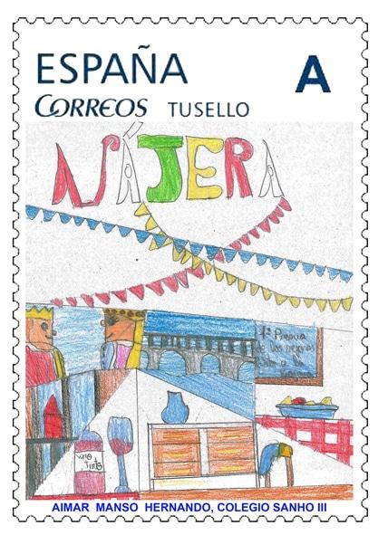 Acona entrega en Nájera los premios del IV Concurso 'Dibuja tu sello' 9