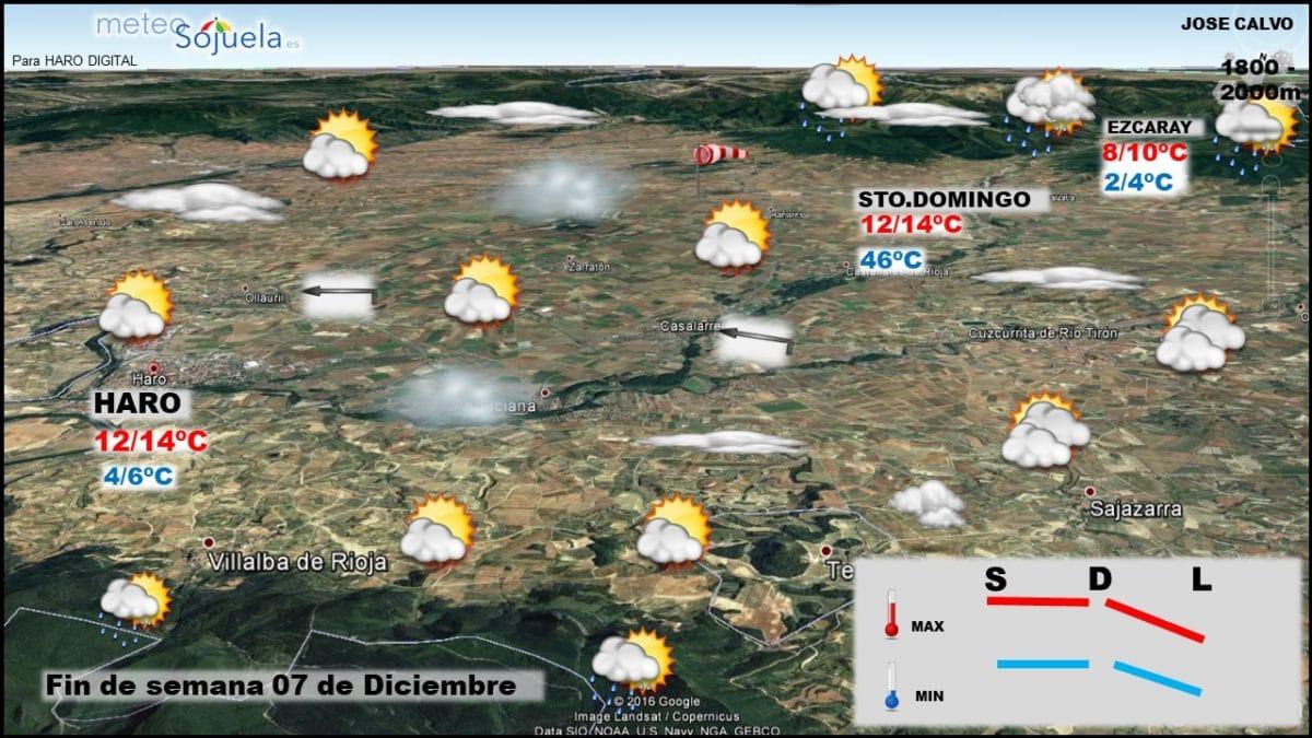 Estampas del otoño en La Rioja Alta: continúa el tiempo estable 2