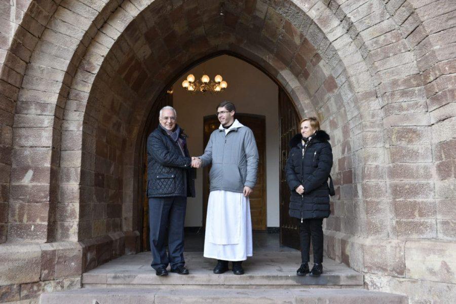 El Gobierno de La Rioja destina 40.000 euros para apoyar al Monasterio de Valvanera 1