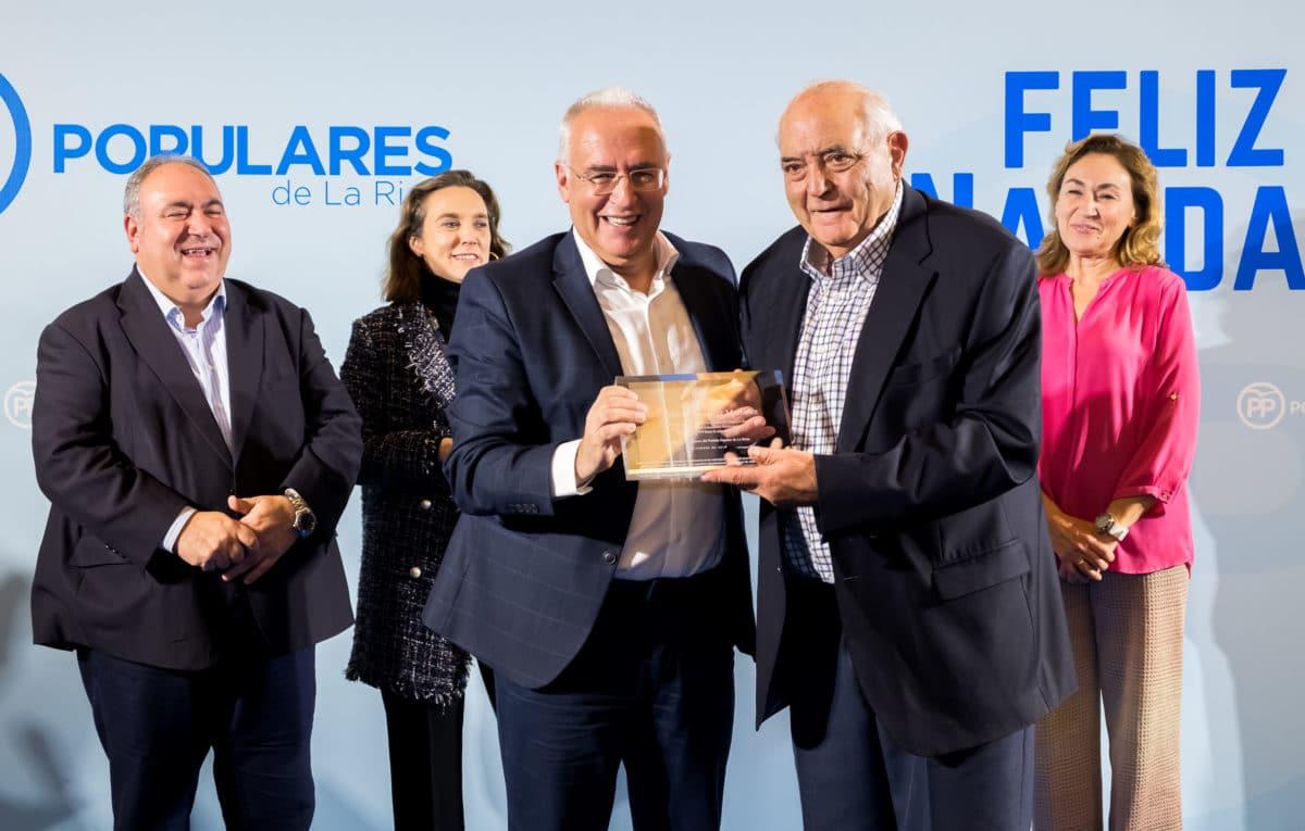 El PP homenajea a los alcaldes que cumplen más de 25 años en sus pueblos 7