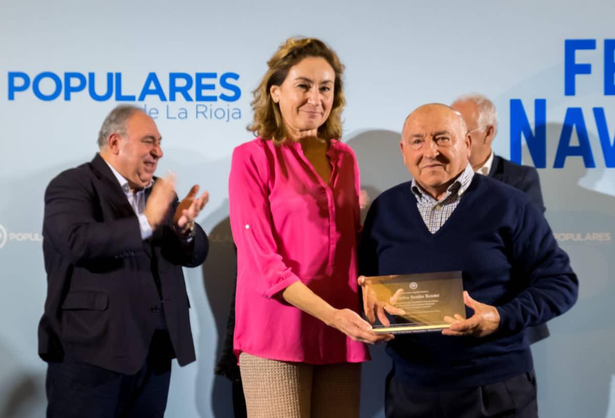 El PP homenajea a los alcaldes que cumplen más de 25 años en sus pueblos 8