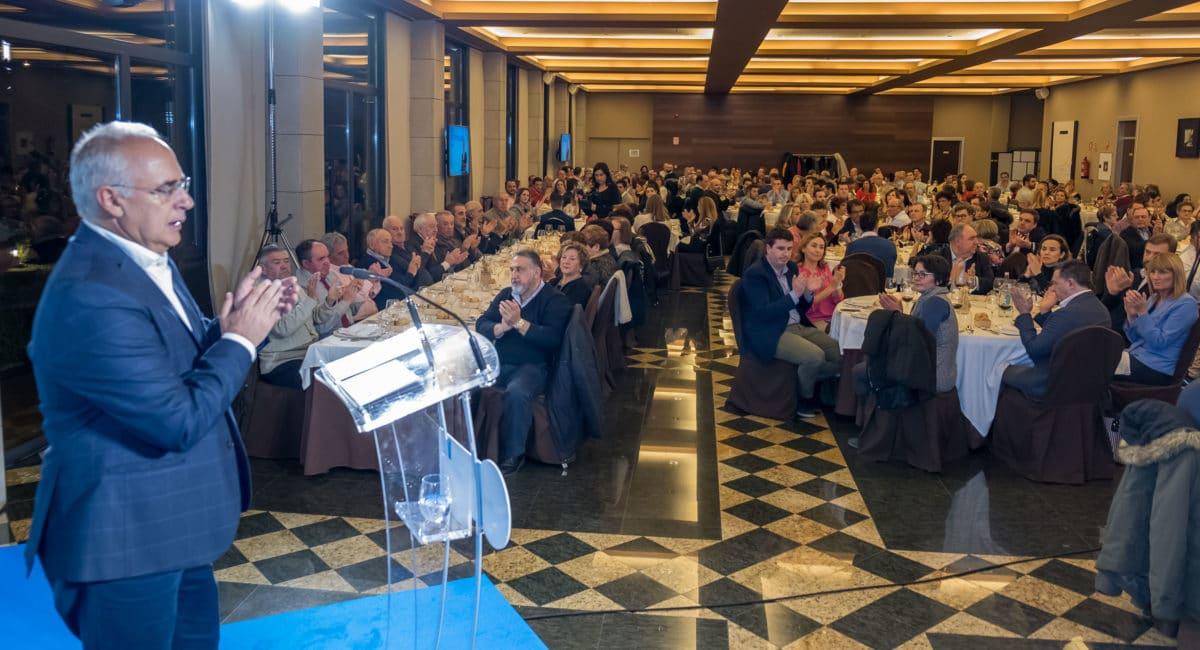 El PP homenajea a los alcaldes que cumplen más de 25 años en sus pueblos 13