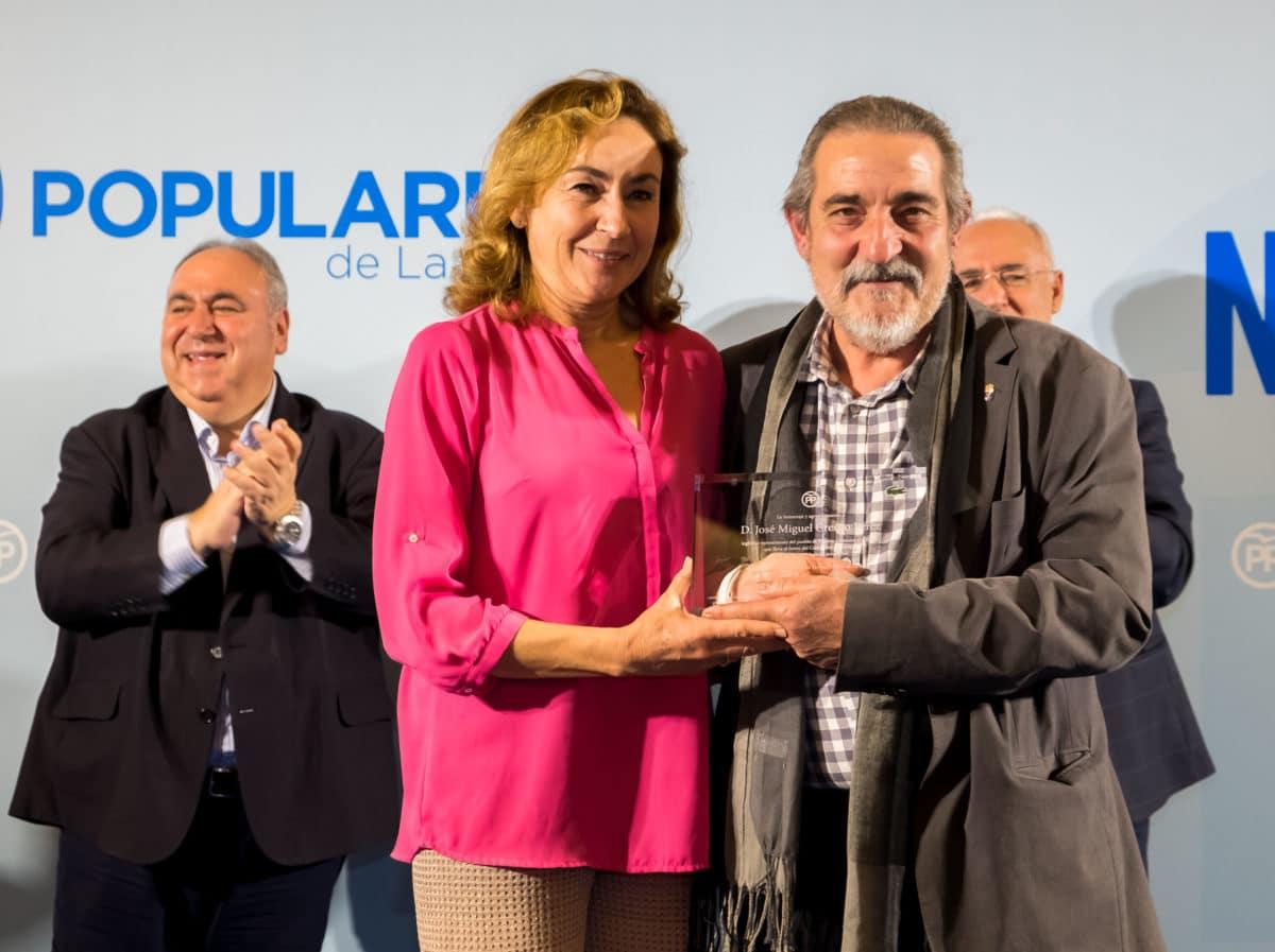 El PP homenajea a los alcaldes que cumplen más de 25 años en sus pueblos 3
