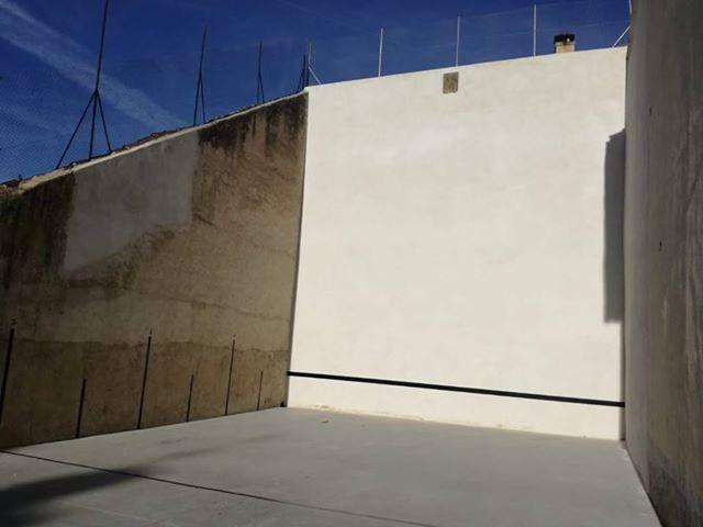 Este domingo se inaugura la rehabilitación del trinquete de Castañares de Rioja 1