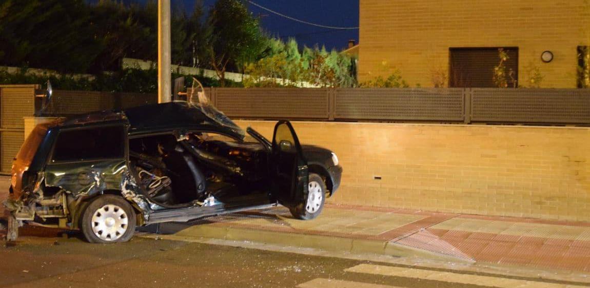Fallece una persona en una colisión de dos vehículos en Haro 4