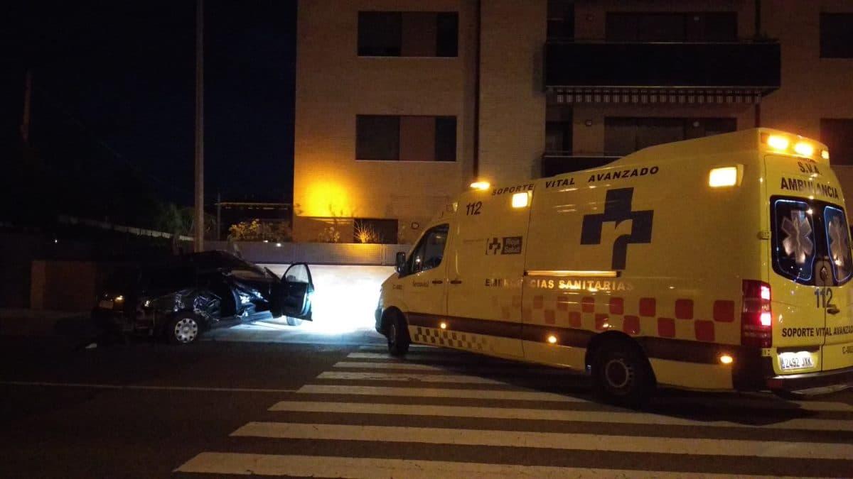 Fallece una persona en una colisión de dos vehículos en Haro 5