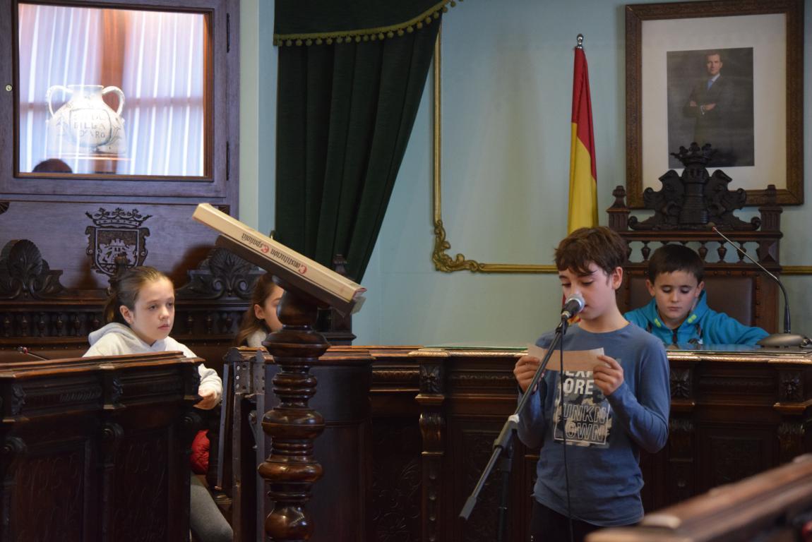 Haro celebra con escolares el 40 aniversario de la Constitución 3