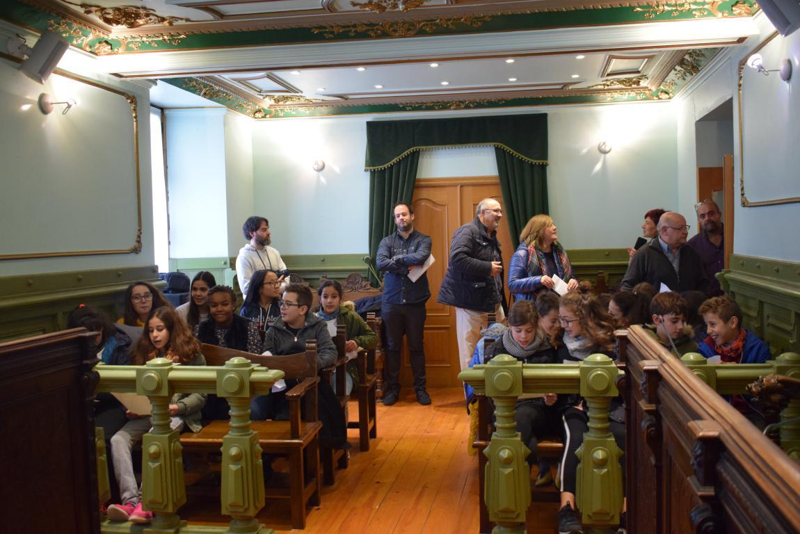 Haro celebra con escolares el 40 aniversario de la Constitución 6
