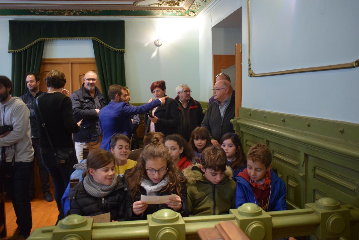 Haro celebra con escolares el 40 aniversario de la Constitución 7