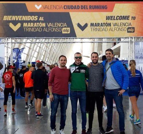 La expedición jarrera en el Maratón Valencia 2018 4