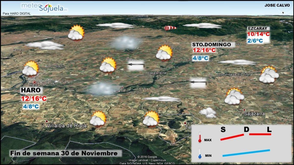 La previsión del tiempo en La Rioja Alta para los próximos días 2
