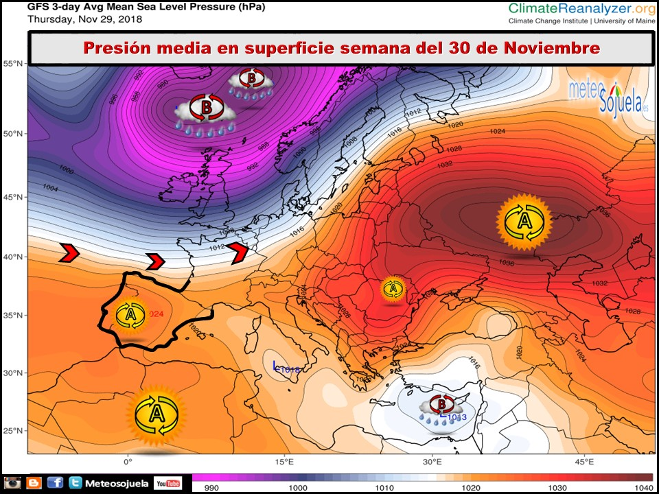 La previsión del tiempo en La Rioja Alta para los próximos días 3