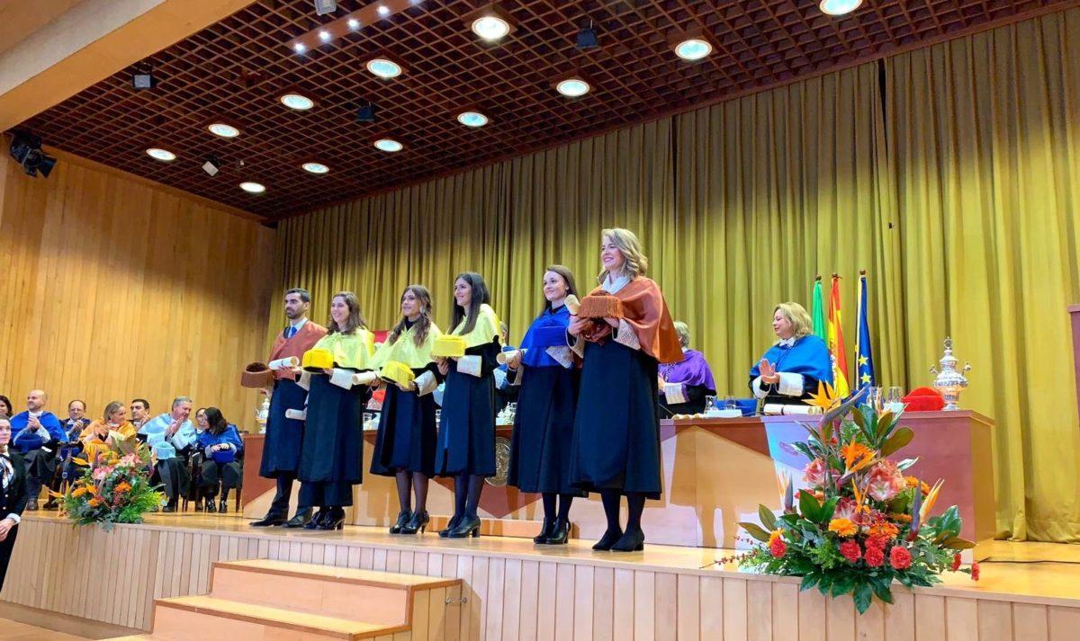 La Universidad de Sevilla reconoce la excelencia de la tesis doctoral de la jarrera Leticia Irazola 1