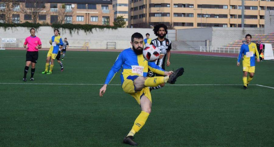 Partido tranquilo en El Mazo: el Haro vence 2-0 al Alberite 2