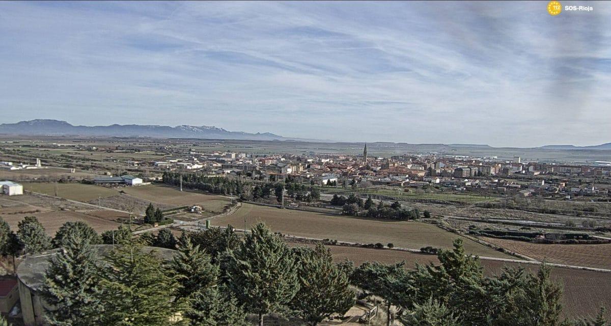 Imagen de Santo Domingo de la Calzada   Foto: Webcam SOS Rioja