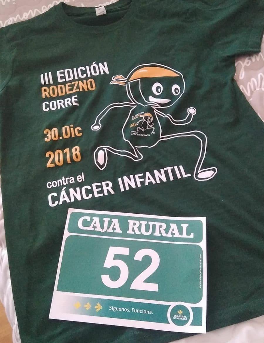 Rodezno sale de nuevo a correr este domingo contra el cáncer infantil 1
