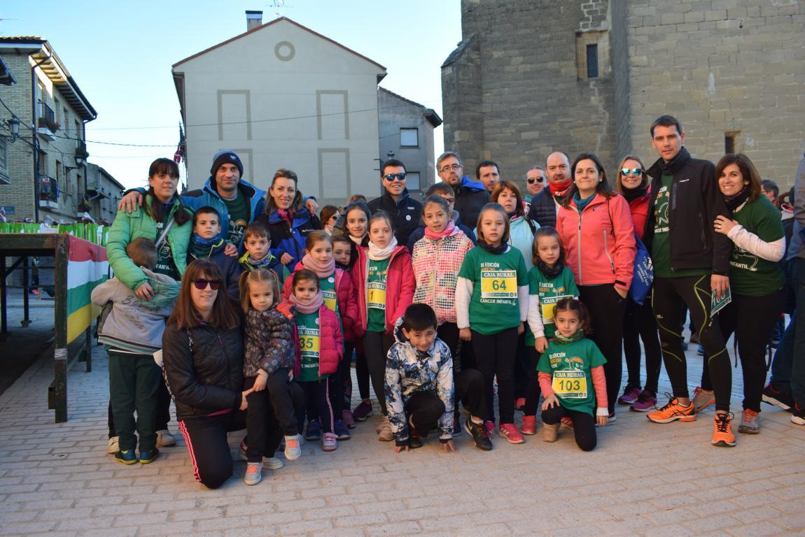 Un millar de corredores se dan cita en Rodezno contra el cáncer infantil 19