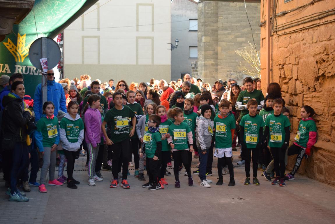Un millar de corredores se dan cita en Rodezno contra el cáncer infantil 21