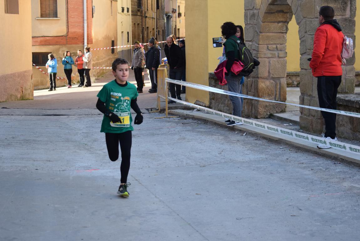 Un millar de corredores se dan cita en Rodezno contra el cáncer infantil 25