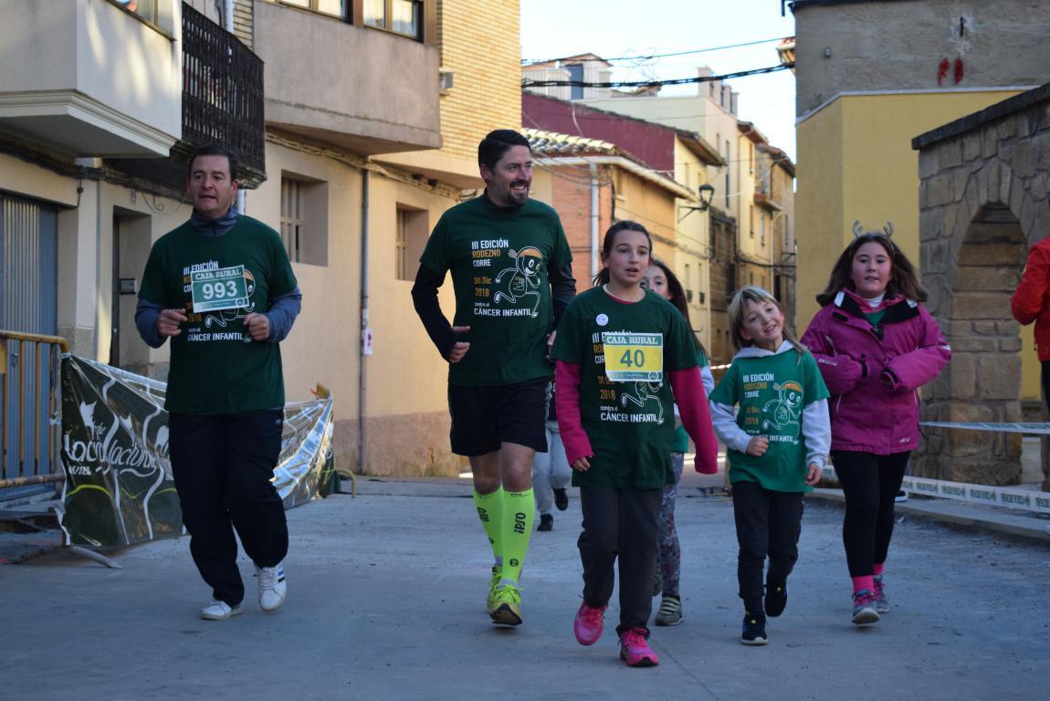 Un millar de corredores se dan cita en Rodezno contra el cáncer infantil 30