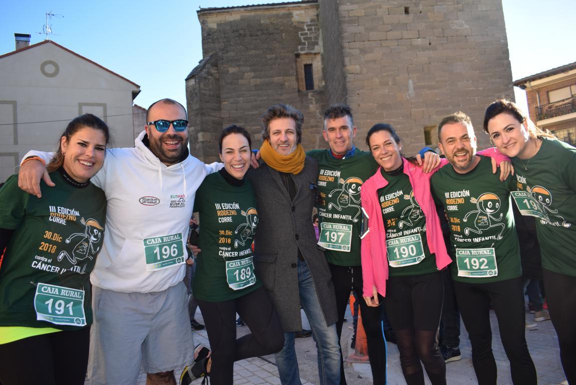 Un millar de corredores se dan cita en Rodezno contra el cáncer infantil 36
