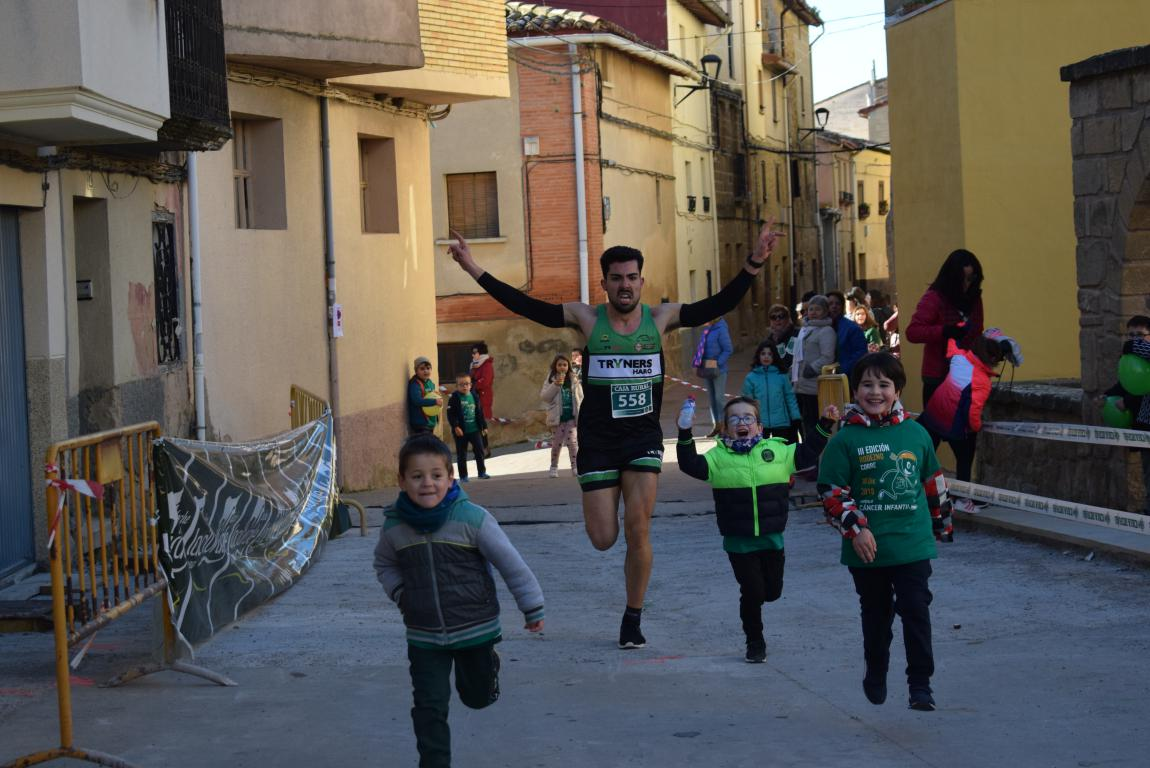 Un millar de corredores se dan cita en Rodezno contra el cáncer infantil 39