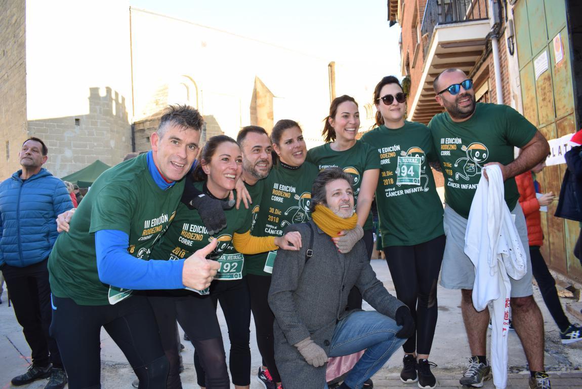 Un millar de corredores se dan cita en Rodezno contra el cáncer infantil 6