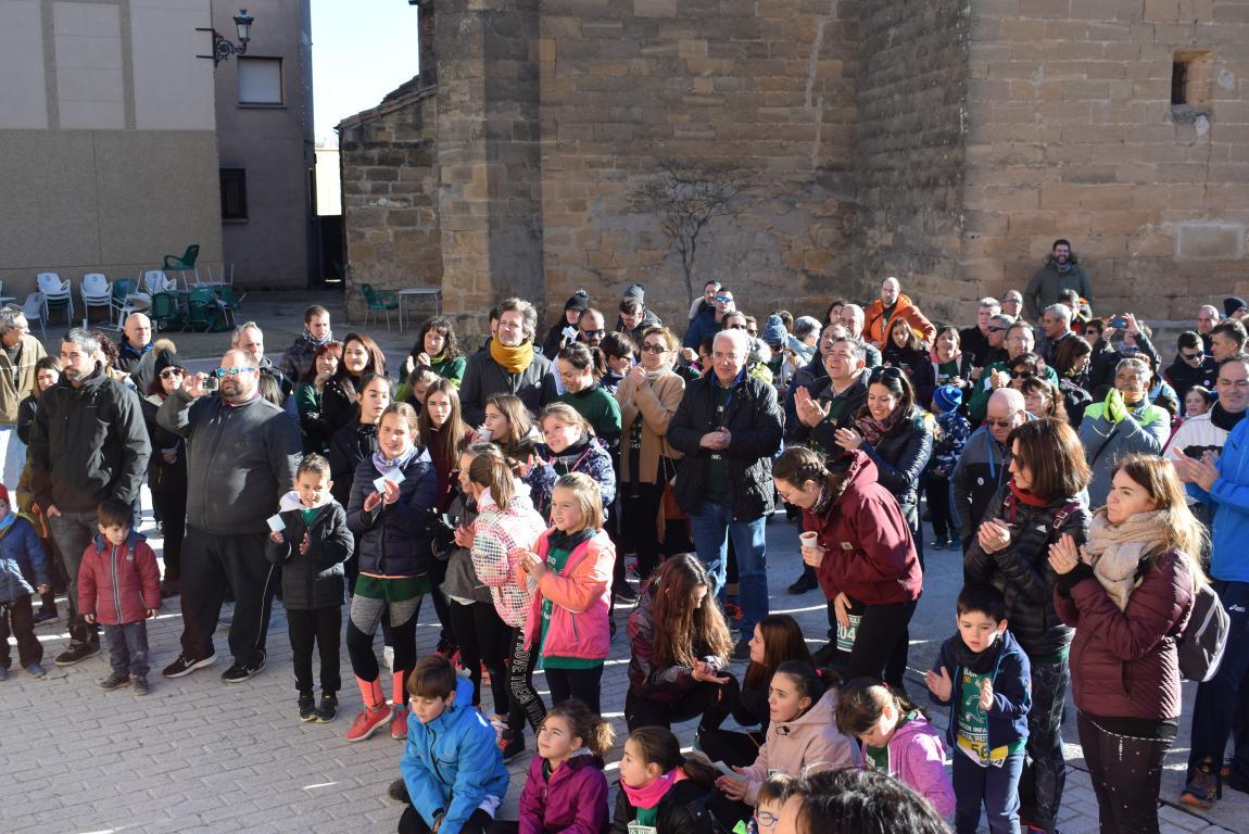 Un millar de corredores se dan cita en Rodezno contra el cáncer infantil 8